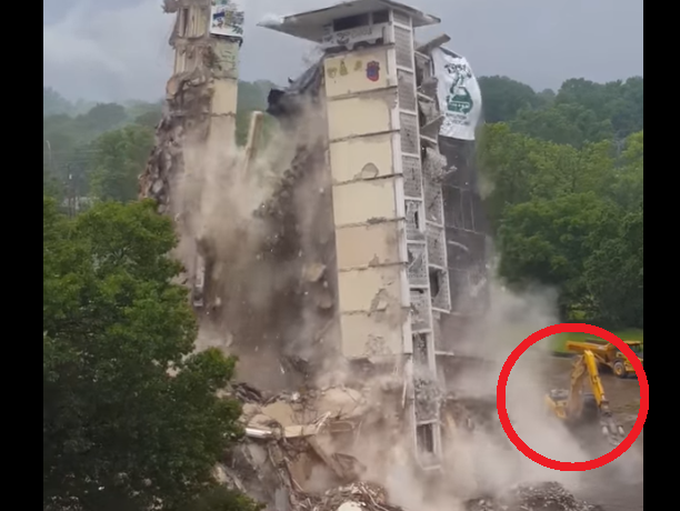 Demolition Disaster: This Mans Rookie Mistake Nearly Cost Him His Life